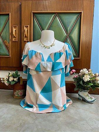Blusa geométrica (G)