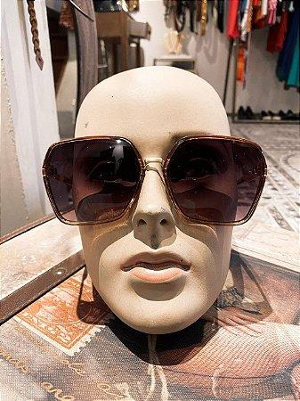 Óculos de Sol 70's quadrado