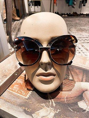 Óculos de sol vintage tartaruga