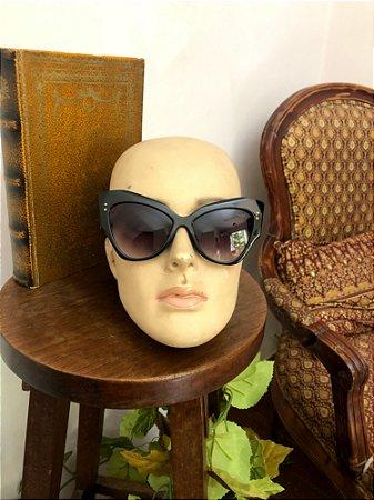 Oculos de sol LBA estilo Borboleta (Preto)