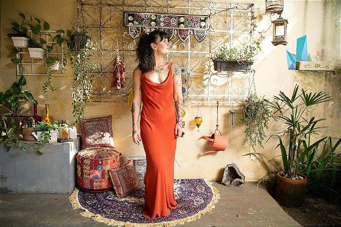 Slip Dress Terracota (G)