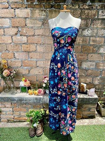 Vestido Antix tcq floral (P)