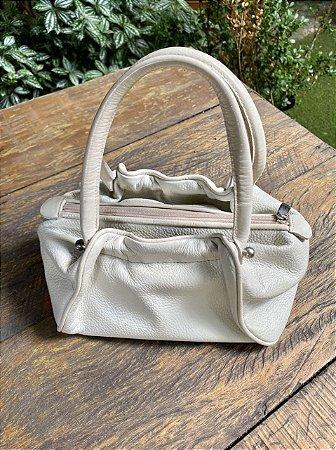 Bolsa de Mão Vintage Off White