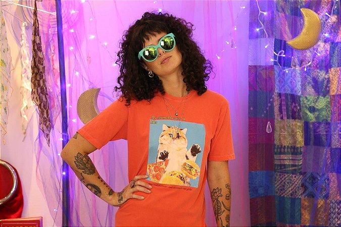 Camiseta Gatinho (PP)