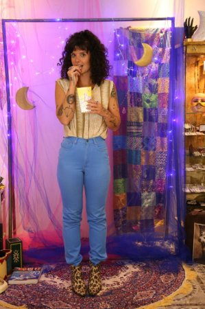Calça Jeans Azul Dijon (40)