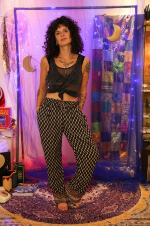 Pantalona estampa losango Teresa Guerra (GG)