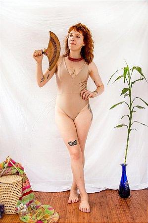 Body Brilho Nude