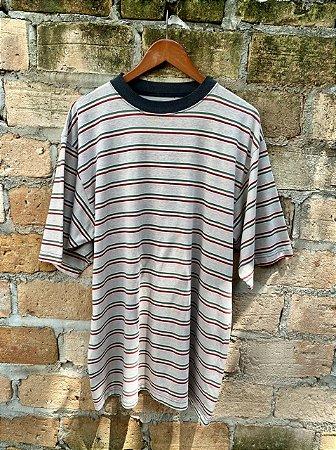 Camiseta vintage listrada jamaica oversized