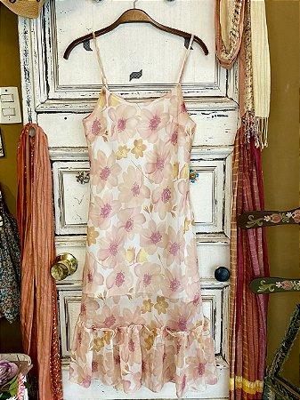 Slip dress Flores (M)