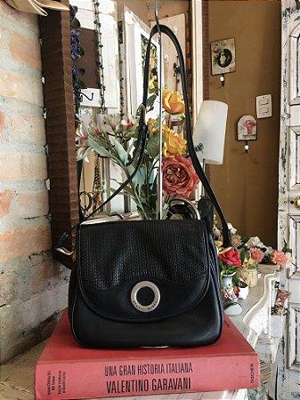 Bolsa Vintage de Couro Jeanne Benét