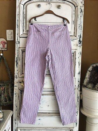 Calça Jeans Listrada Aero Jeans (44)