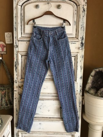 Calça jeans listrada Hamuche (42)