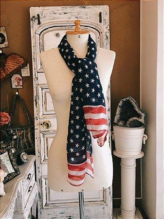 Echarpe Bandeira EUA