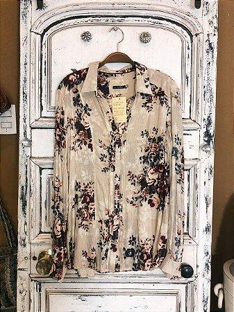 Camisa manga longa Cotton Colors (M)