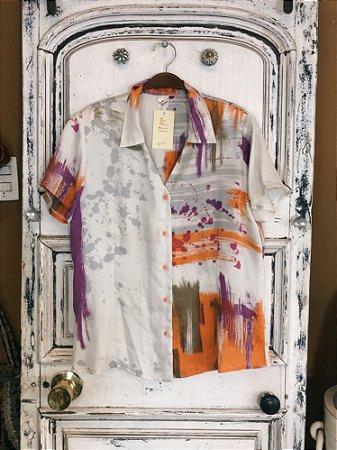 Camisa manga curta Colors (M)