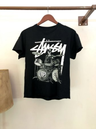 Camiseta Stussy Bust Your Own Beat!!