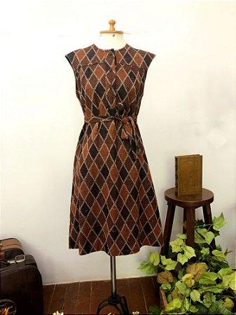 Vestido de lã Bayard