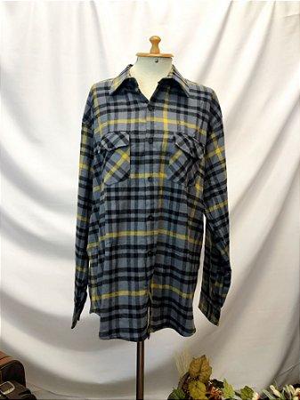 Camisa flanela xadrez (GG)