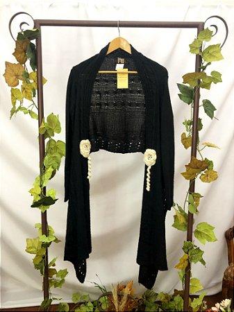 Bolero tricot tipo Echarpe (M)