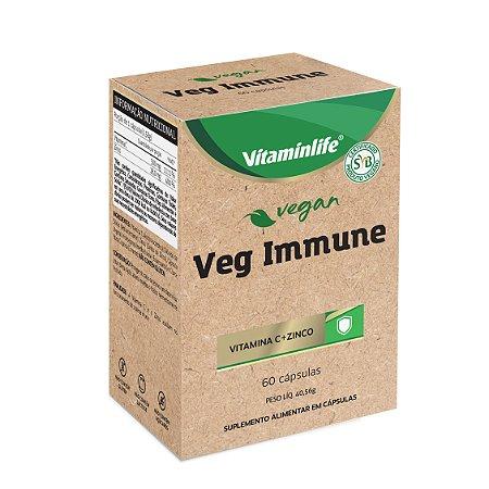 Vegan - Veg Immune (Vit C + Zinco) - 60 cápsulas