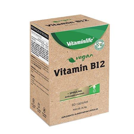 Vegan - Vitamin B12 (+ Espirulina) - 60 cápsulas