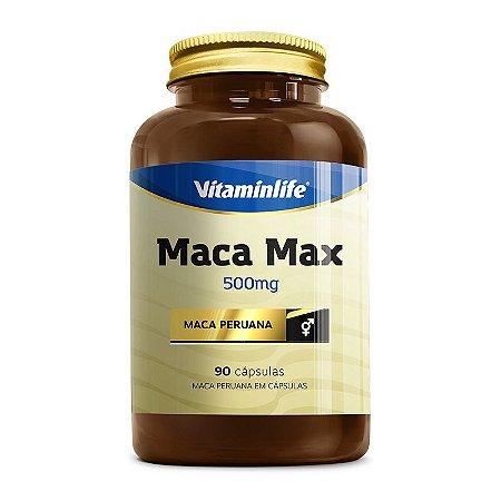 Maca Max 500mg - 90 cápsulas