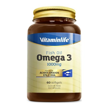 Omega 3 1000mg - 60 softgels