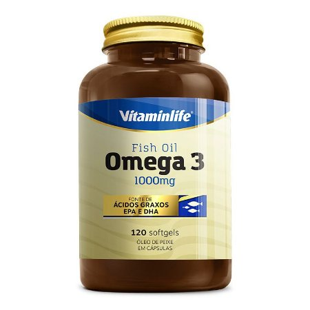 Omega 3 1000mg - 120 softgels