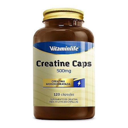 Creatine Caps 500mg - 120 cápsulas