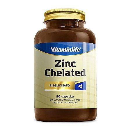 Zinc Chelated - 90 cápsulas