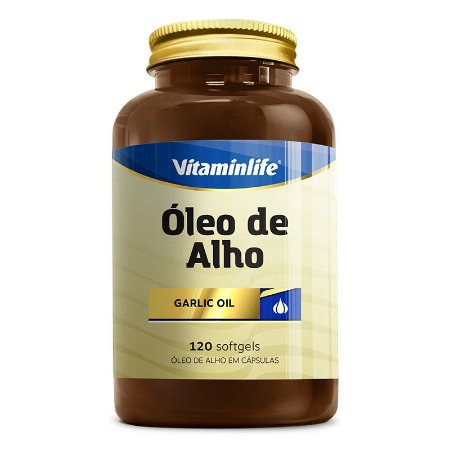 Óleo de Alho 250mg - 120 softgels