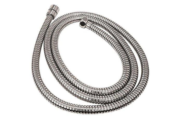 Ligação Flexível Ducha/Chuveiro/Desviador Comprimento 1,80 cm Cromada Cód. 4260020 Deca