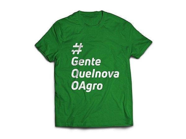 Camiseta #GenteQueInovaOAgro