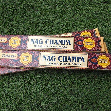 Incenso massala nag champa tulasi