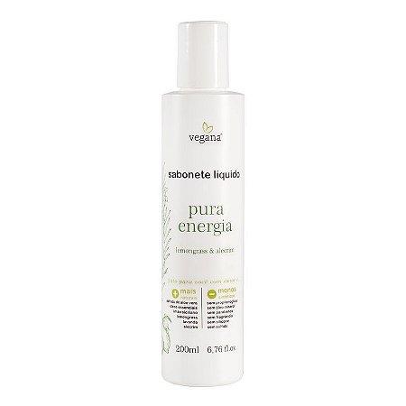 Sabonete líquido Pura Energia 200ml - Vegana