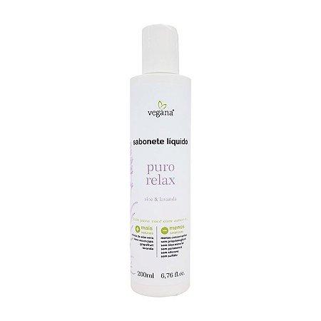 Sabonete líquido Puro Relax 200ml - Vegana