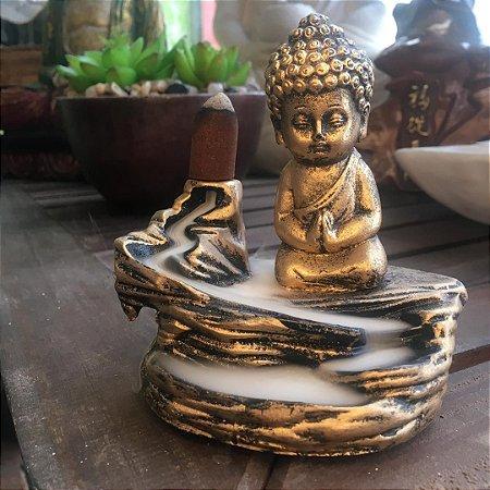 Incensário cascata monge M