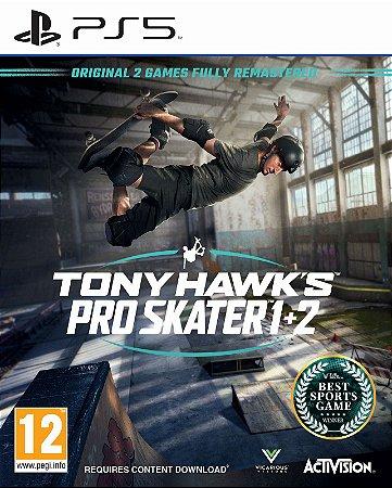 Game Tony Hawk's Pro Skater 1 + 2 - PS5