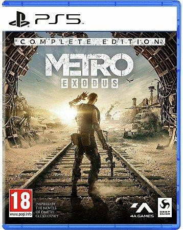 Game Metro Exodus Complete Edition - PS5