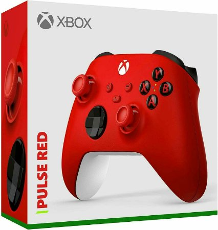 Controle Sem fio Xbox Series - Pulse Red - Microsoft