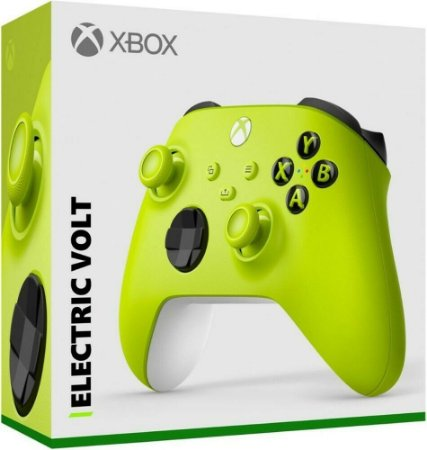 Controle Sem fio Xbox Series - Eletric Volt - Microsoft