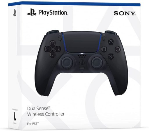 PS5 - Controle Sem Fio Dualsense Midnight Black - Sony