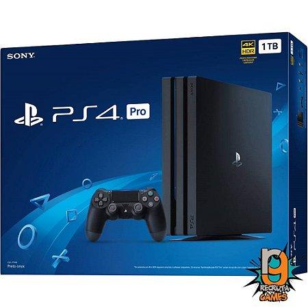 Console Playstation 4 Pro 1tb Cuh: 7215b