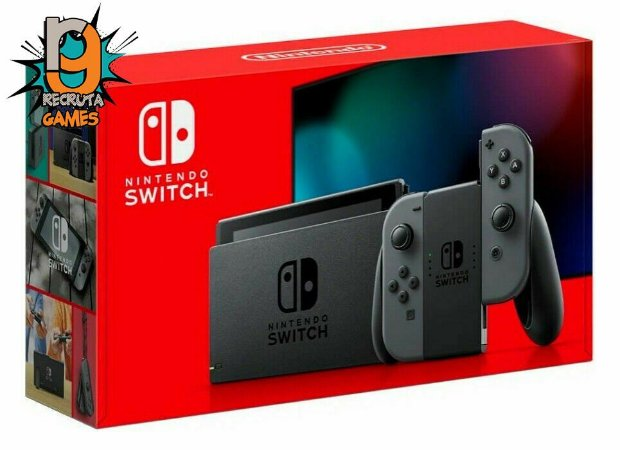 Console Nintendo Switch 32GB Gray XKW - Nintendo