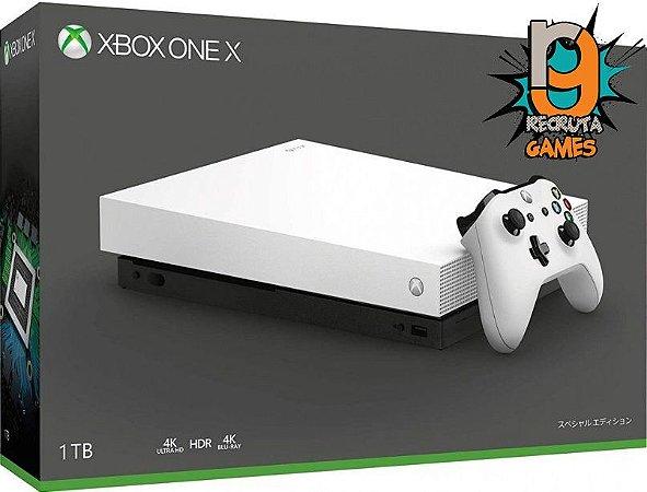 Console Xbox One X 1TB Robot White - Microsoft