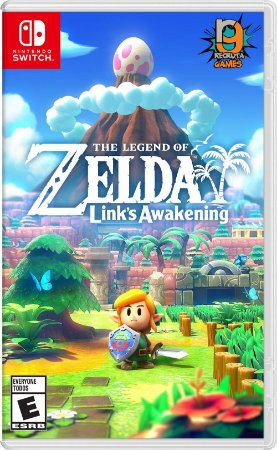 Game The Legend of Zelda Link's Awakening - Switch