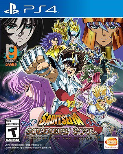 Game Cavaleiros do Zodiaco Alma dos Soldados - PS4