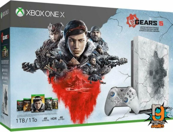 Console Xbox One X Gears of War 5 Limited Edition Bundle - Microsoft
