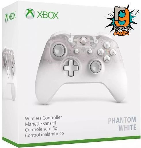 Controle Sem fio Xbox One Newest Phantom White - Microsoft