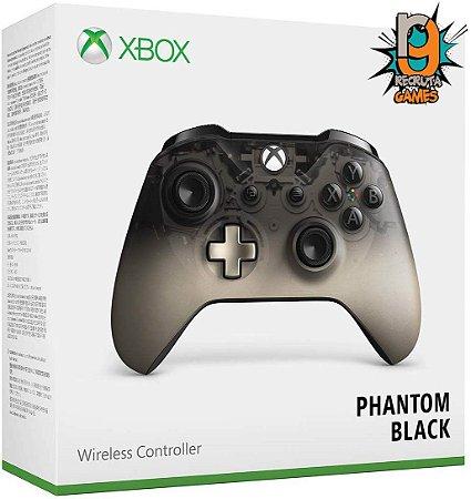 Controle Sem fio Xbox One Newest Phantom Black - Microsoft